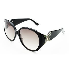 Judith Leiber Women's Butterfly Sunglasses Black - Small