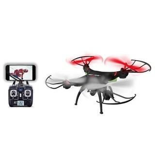 Swift Stream RC Remote Control Camera Drone, Black - 12 in.