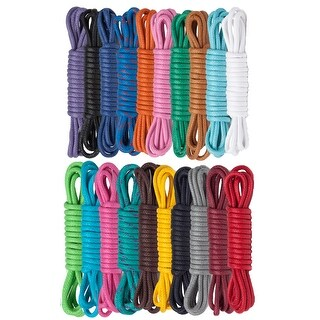 """30"""" Waxed Cotton Dress Shoelaces - One size"""