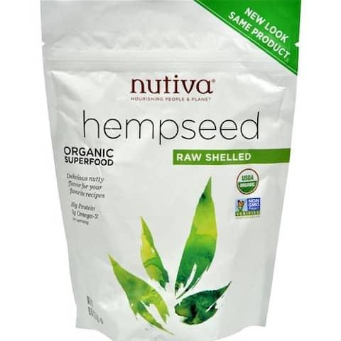 Nutiva - Organic Shelled Hempseed ( 2 - 8 OZ)
