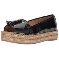 Adrienne Vittadini Womens Parke Peep Toe Casual Espadrille Sandals