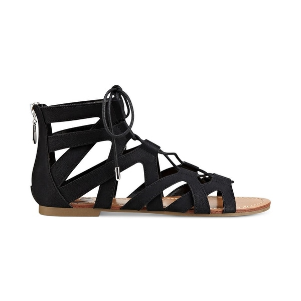 56aaa62b56db Shop G by Guess Womens Lookie Open Toe Casual Gladiator Sandals ...