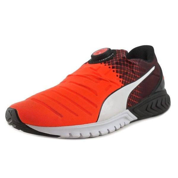 Puma Ignite Dual Disc Round Toe Synthetic Running Shoe