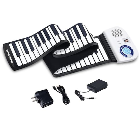 88 Keys Roll Up Piano Portable Electric Piano Keyboard