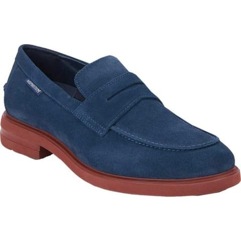 Mephisto Men's Orelien Penny Loafer Mulberry Suede