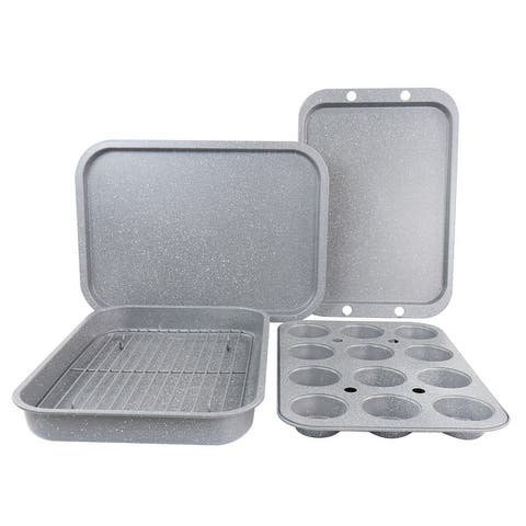 Oster 5 Piece Carbon Steel Roasting and Baking Set