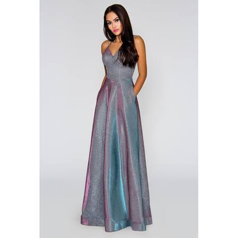 Stella Couture Formal Prom Maxi Dress