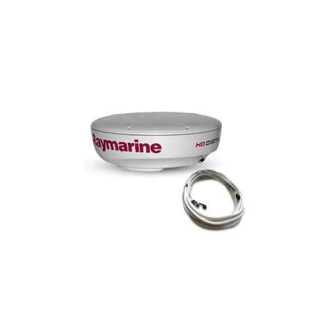 Raymarine T70168 HD Digital Signal Processing with RD418HD Digital Radome - White