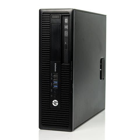 HP EliteDesk 705 G1 SFF AMD A6-7400B 3.5GHz 8GB DDR3 1TB Windows 10 Pro (Refurbished)