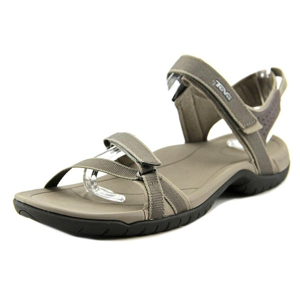 Teva Verra Women Open-Toe Synthetic Brown Sport Sandal