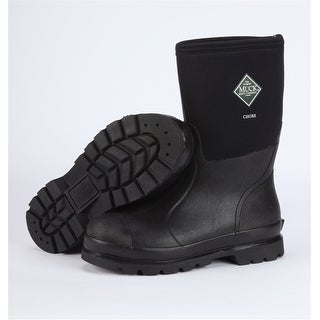 Muck Chore Mid Boot Men's Black 10 Womens 11