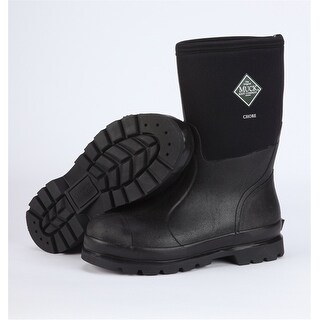 Muck Chore Mid Boot Black Mens 9 Womens 10