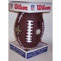 Wilson New Orleans Saints Full Size Composite NFL Football  F1748