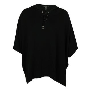 Style & Co Women's Hooded Poncho - ps/pm