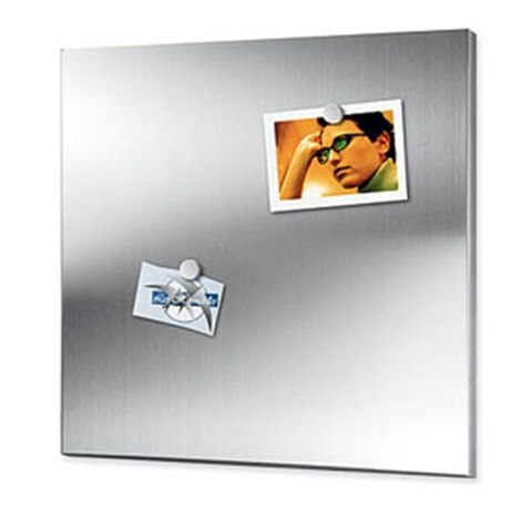 Zack 30752 Magnetic boards medium 17.7 x 21.7 inch- Stainless Steal