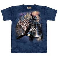 The Mountain Reflections of Freedom Patriotic Tee T-shirt