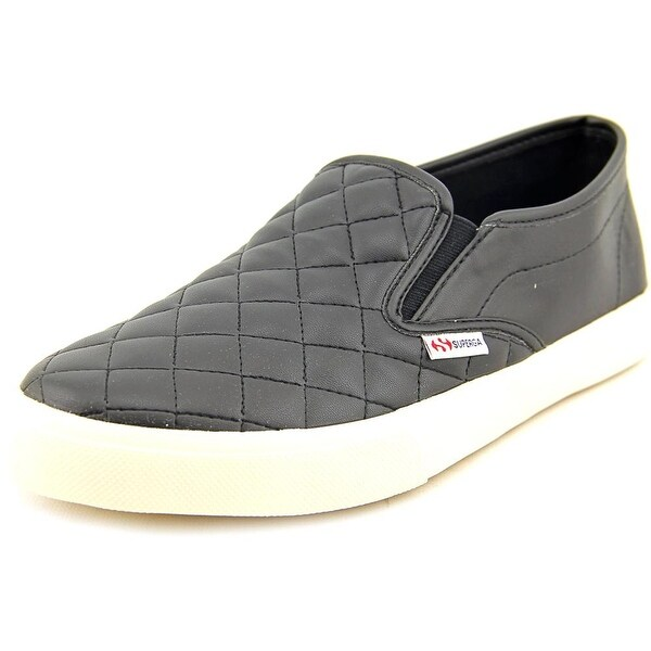 Superga 2311 Quilted Women Synthetic Black Fashion Sneakers