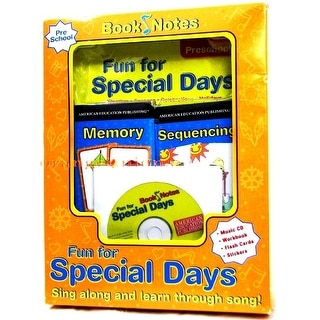 Book Notes Fun For Special Days Activity Set