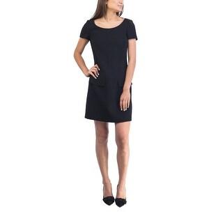 Prada Women's Virgin Wool Dress Black - 6