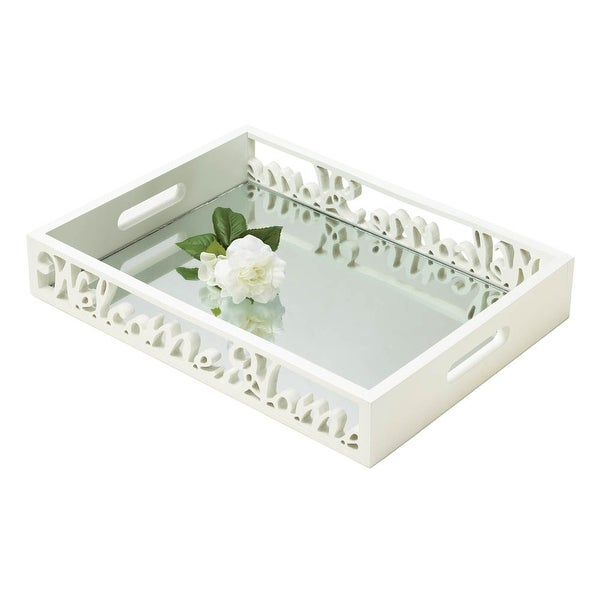 Home Welcome Home Mirror Tray