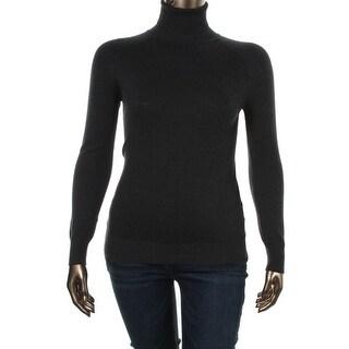 Zara Knit Womens Knit Long Sleeves Turtleneck Sweater