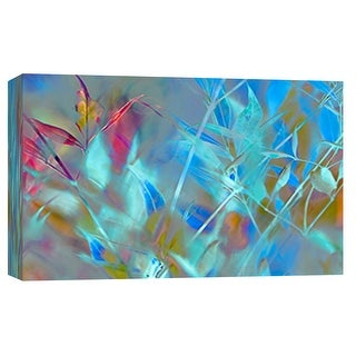 """PTM Images 9-101790  PTM Canvas Collection 8"""" x 10"""" - """"Delusional Grass I"""" Giclee Leaves Art Print on Canvas"""