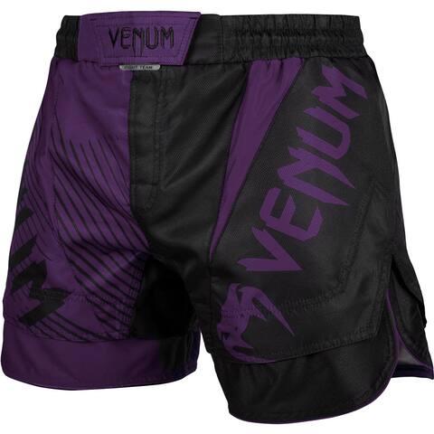 Venum No-Gi 2.0 Lightweight MMA Fight Shorts - Black/Purple