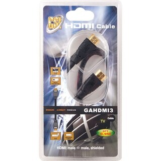 3 ft. High Definition HDMI Cable, Gold