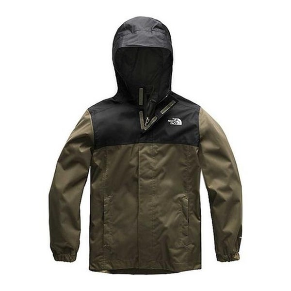 472119553c470a Shop The North Face Boys  Resolve Reflective Logo Jacket New Taupe Green - Free  Shipping Today - Overstock - 25666589