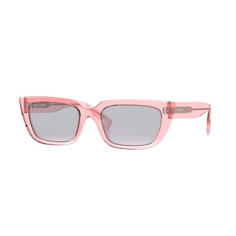 Burberry BE4321 388187 52 Pink Woman Rectangle Sunglasses