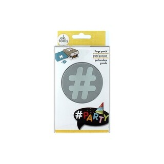 Link to EK Paper Shapers Punch Double Hashtag Similar Items in Scrapbooking Tools