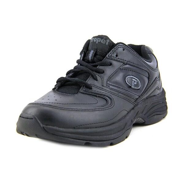 Propet Eden Women  Round Toe Leather Black Walking Shoe