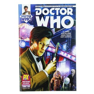 Doctor Who: The Eleventh Doctor #1 Comic Book (Variant) - multi