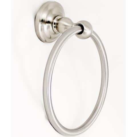 Stone Mill Hardware - Satin Nickel Scottsdale - Towel Ring - Silver