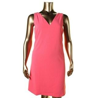 Lauren Ralph Lauren Womens Evening Dress Pleated Sleeveless