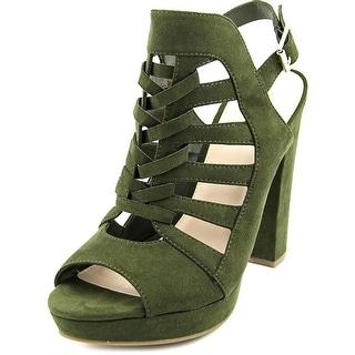 Bar III Nerisa Women Open Toe Synthetic Platform Sandal