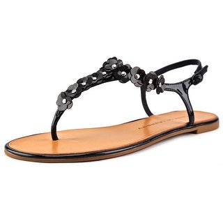 Chinese Laundry Garden Women Open Toe Synthetic Black Thong Sandal