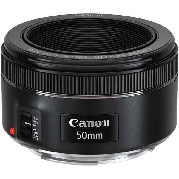Canon EF 50mm f/1.8 STM Lens (International Model)