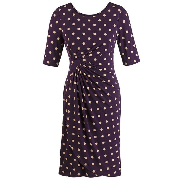 Women's Polka Dot Sarong Dress