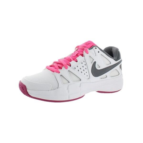 Nike Womens Air Vapor Advantage Tennis Shoes Non Marking Low-Top - 5.5 medium (b,m)