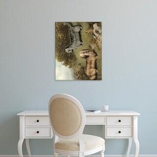 Easy Art Prints Vero Shaw's 'Terriers' Premium Canvas Art