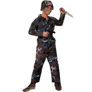 Forum Novelties Army Soldier Child Costume - Green