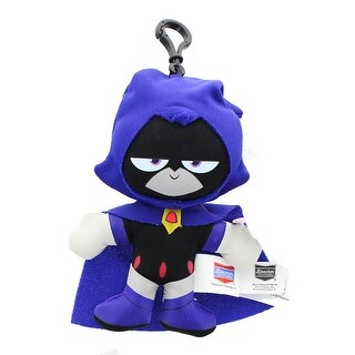 "DC Comics Teen Titans Go! 4"" Raven Plush Clip-On - multi"