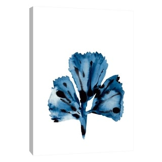 """PTM Images 9-108684  PTM Canvas Collection 10"""" x 8"""" - """"Indigo Sea 2"""" Giclee Corals Art Print on Canvas"""