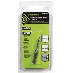 Greenlee DTAP10-24 One-Piece Drill/Tap Bit 10-24