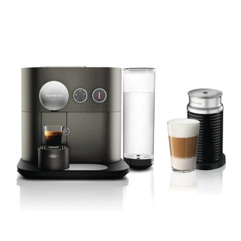 Nespresso Expert Original Espresso Machine with Coffee Pods Bundle