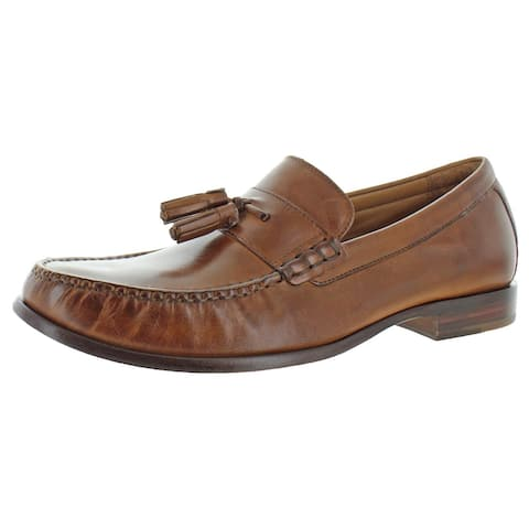 Cole Haan Mens Pinch Tassel Loafers Leather Slip On