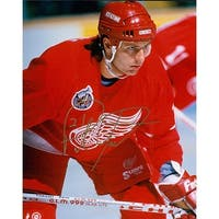 Signed Ysebaert Paul Detroit Red Wings 8x10 Photo autographed