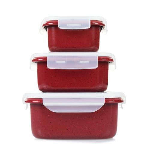 Curtis Stone 6-piece Dura-Bake® Nonstick Food Storage Set Model 670-536