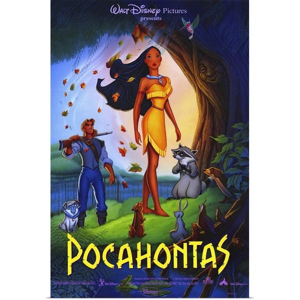 Shop Pocahontas 1995 Poster Print Overstock 24132701